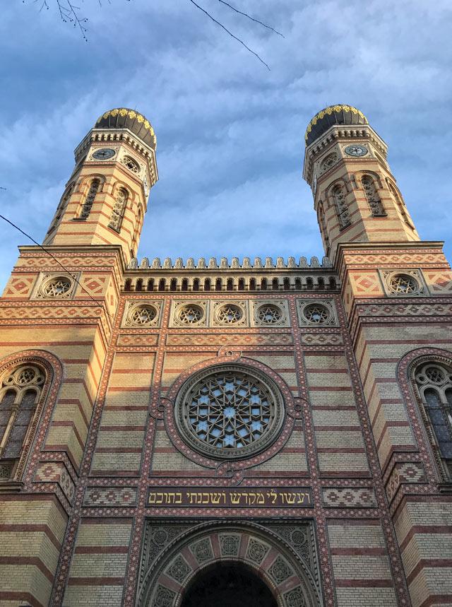 La Grande Sinagoga di Budapest è una delle cose da vedere visitando la capitale dell'Ungheria
