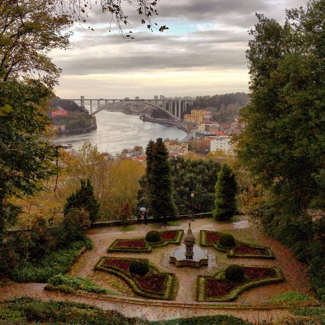 I Giardini del Palacio de Cristal offrono fantastiche viste sul fiume e su Porto