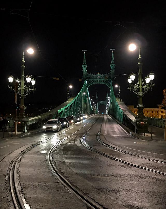 Il Ponte della Libertà in ferro è uno dei ponti storici di Budapest: bello anche da fotografare!