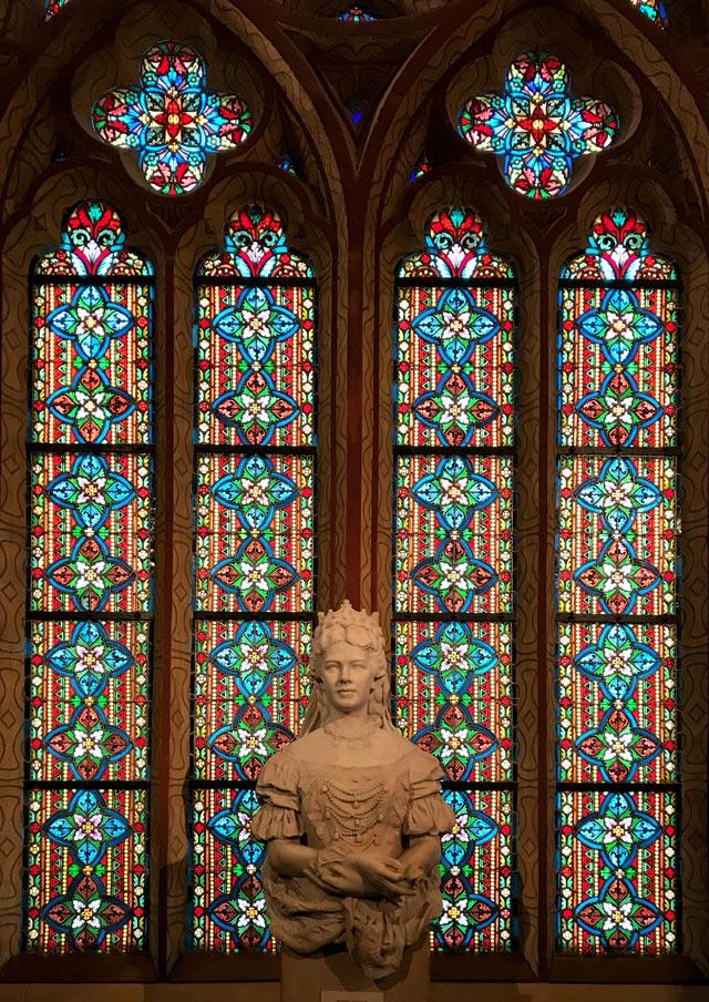 Nella chiesa di Matyas a Budapest c'è una bella statua della principessa Sissi