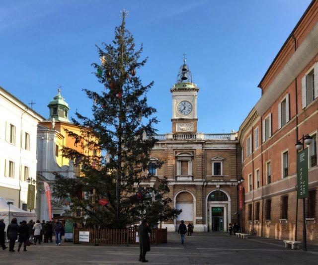 Il cuore di Ravenna è Piazza del Popolo, dove avvengono le celebrazioni importanti