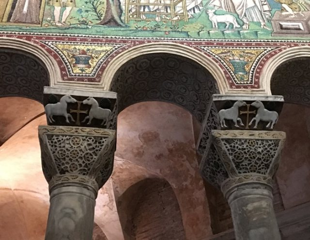 La Basilica di San Vitale è il capolavoro di Ravenna in stile bizantino