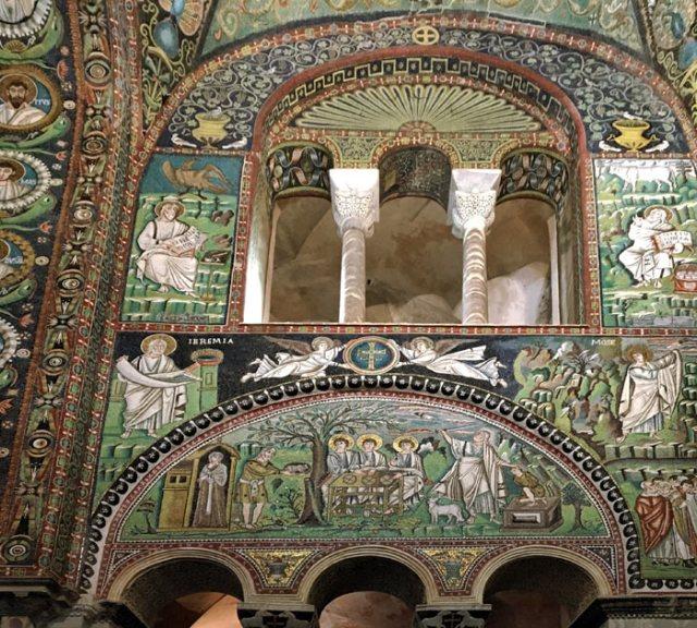La Basilica di San Vitale è il capolavoro di Ravenna coi mosaici Patrimonio Unesco