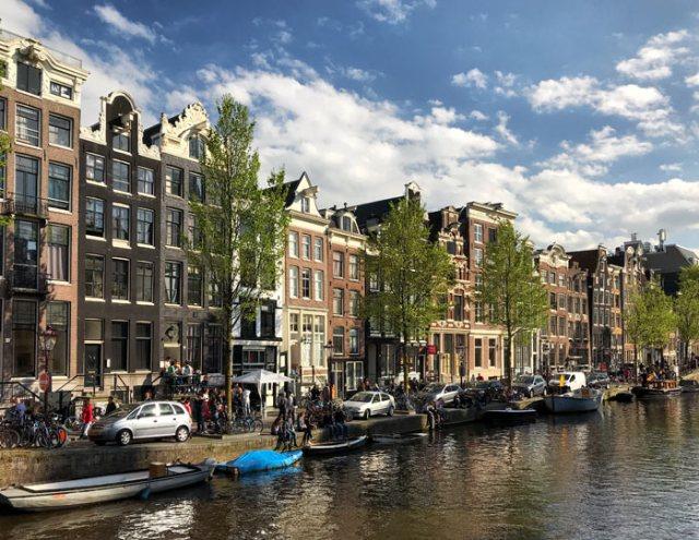 Amsterdam è una delle città più belle d'Europa da visitare