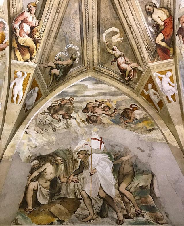 La chiesa di Santa Maria della Neve è un tesoro di Pisogne sul Lago d'Iseo