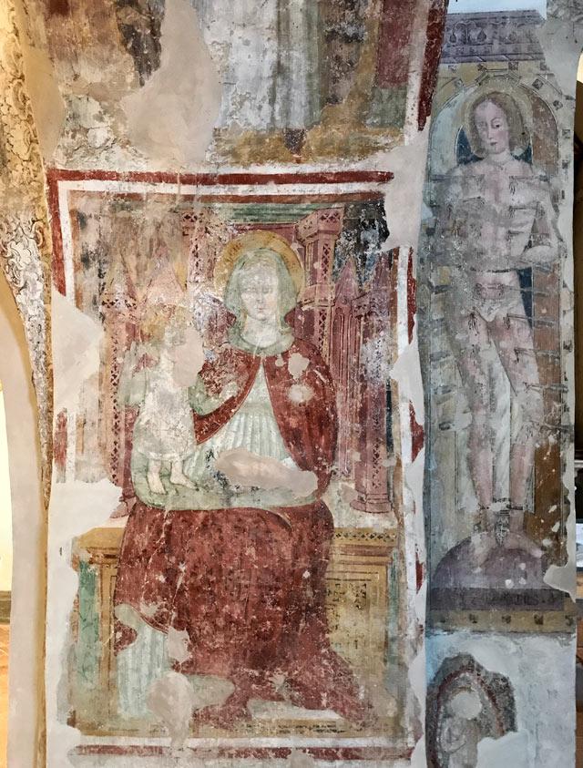 Gli affreschi della chiesa del monastero di San Pietro in lamosa sono bellissimi!