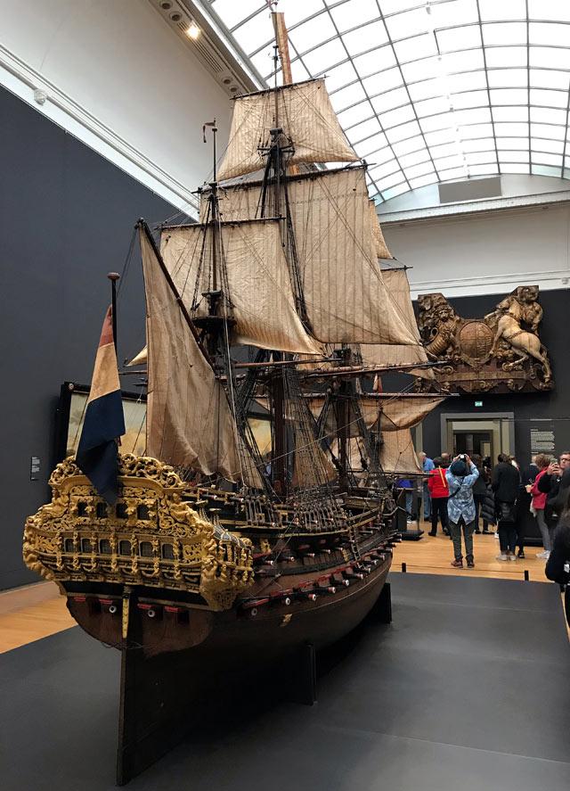 Il Rijksmuseum è uno dei musei da vedere a Amsterdam: contiene tanti capolavori!