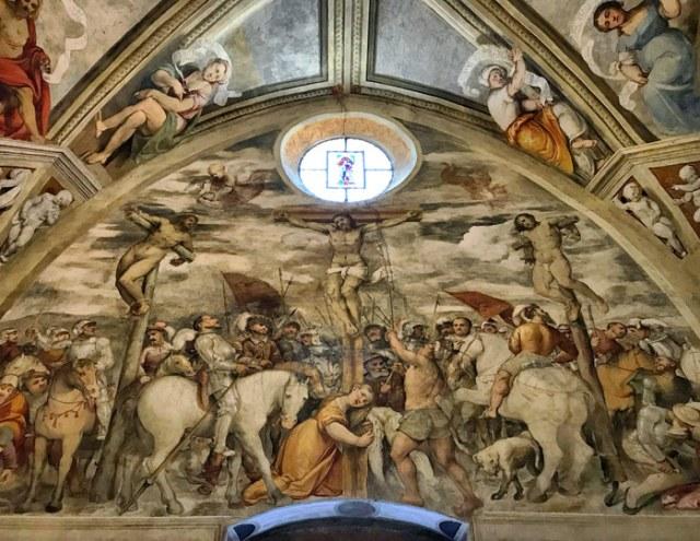 La Chiesa di Santa Maria della Neve custodisce un meraviglioso ciclo di affreschi del Romanino