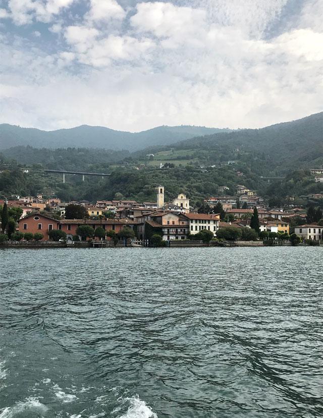 Sulzano è uno dei paesi perfetti per prendere il battello sul Lago d'Iseo