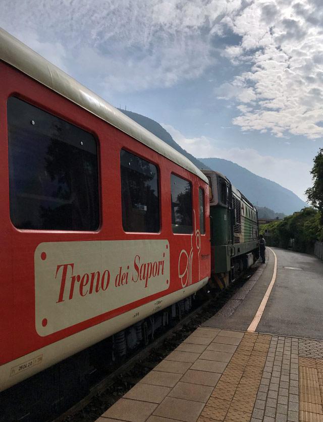 Il Treno dei Sapori del Lago d'Iseo è un treno speciale, perfetto per una gita fuori porta