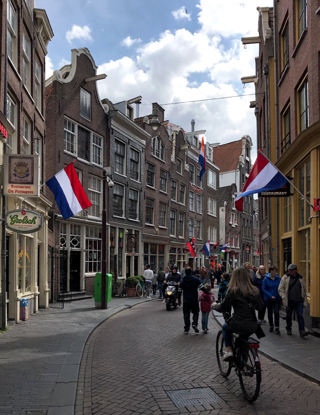 Il King's Day (Giorno del Re) è la festa nazionale dei Paesi Bassi