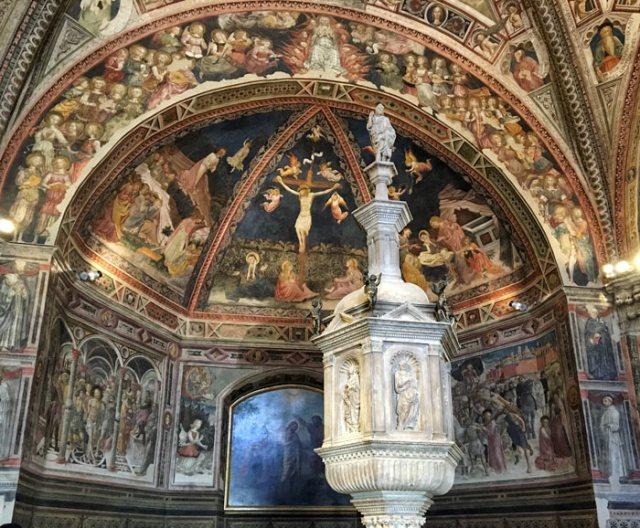 Il Battistero del Duomo di Siena è un capolavoro d'arte rinascimentale