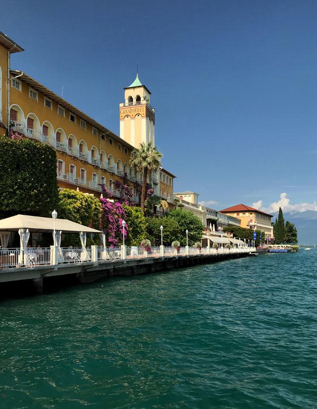 Il Grand Hotel Gardone di Gardone Riviera fu il primo albergo costruito sul Lago di Garda