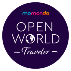 Momondo travel badge