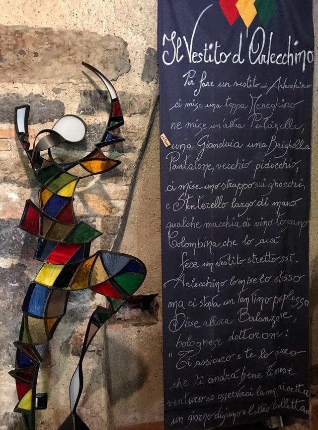 A Oneta in Valle Brembana trovi la Casa Museo di Arlecchino