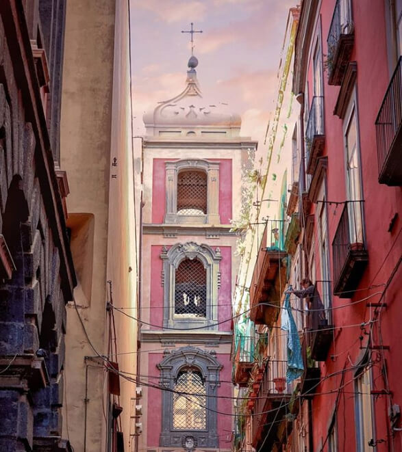 Cosa fotografare a Napoli e in Campania? C'è tanto da vedere come dimostra @gelosan82