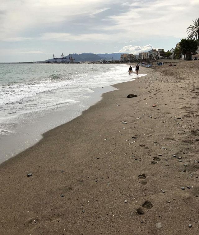 Malaga è famosa per le sue bellissime spiagge della Costa del Sol