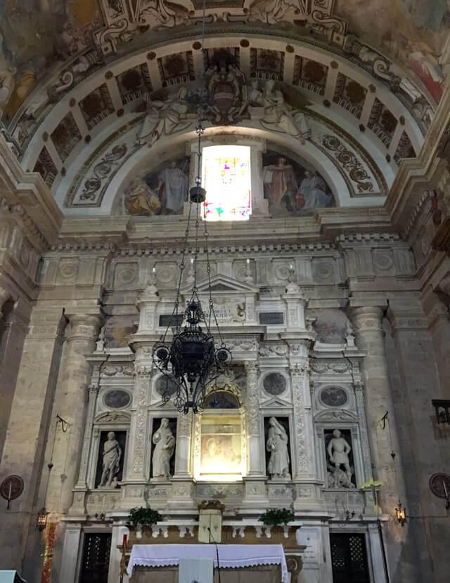 La Chiesa della Madonna di San Biagio è un capolavoro rinascimentale di Montepulciano