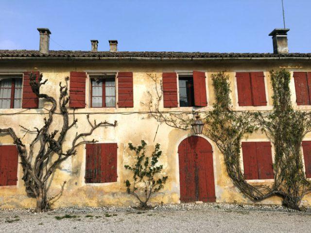 A Villa Barbaro di Maser si produce un ottimo vino DOCG