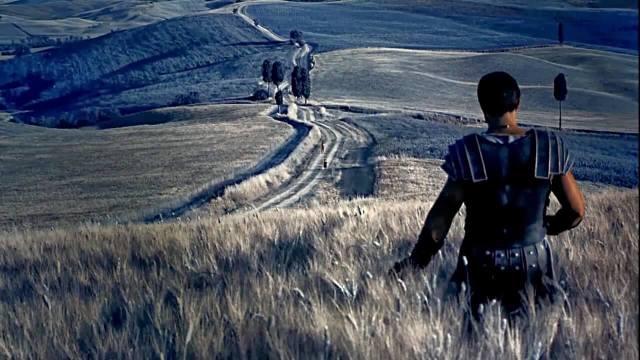 I paesaggi della Val d'Orcia sono stati scelti per girare tantissimi film come Il Gladiatore