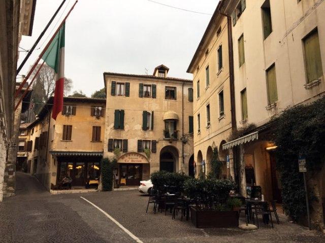 Asolo in Veneto ha scorci eccezionali: perciò è tra i borghi più belli d'Italia