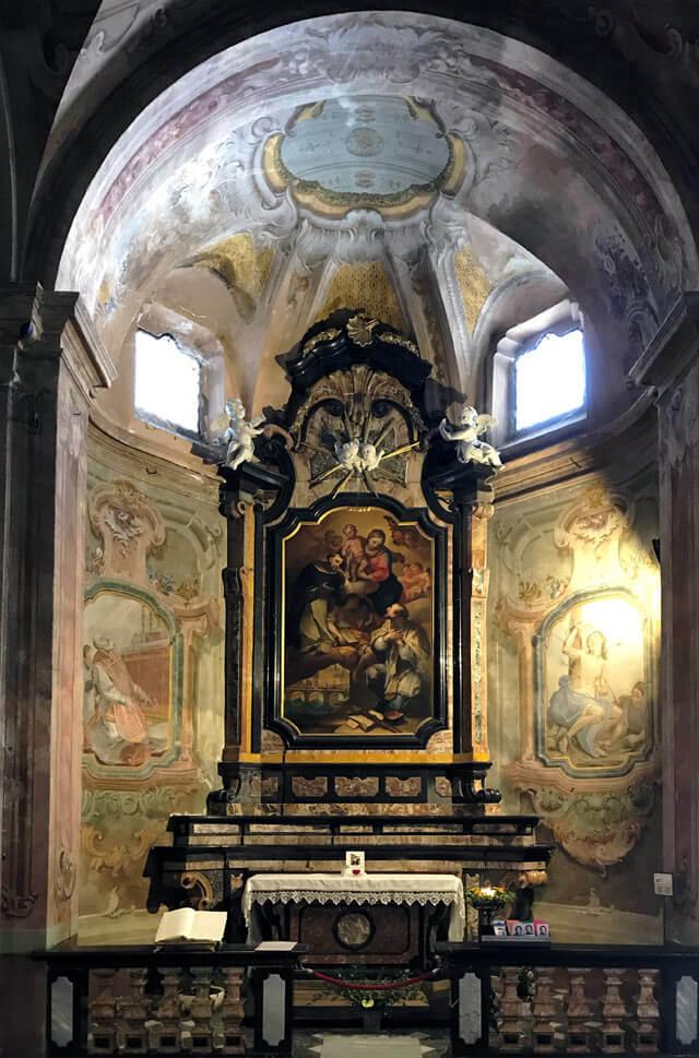 La Collegiata di San Lorenzo di Chiavenna ha dipinti di Pietro Ligari e del Nuvolone