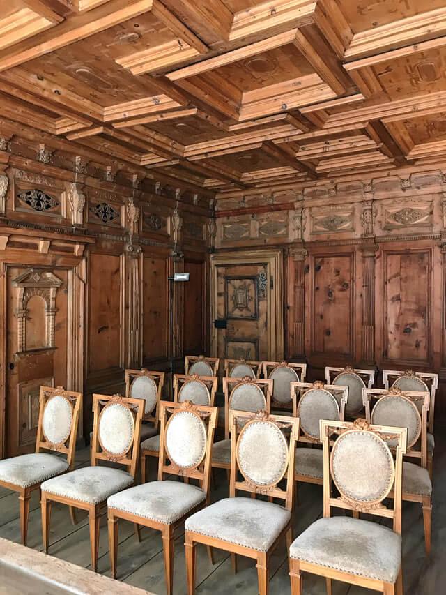 Palazzo Pestalozzi è una dimora storica di Chiavenna con una stua del '500!