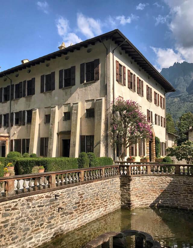 Palazzo Vertemate Franchi è una meraviglia rinascimentale della Valchiavenna