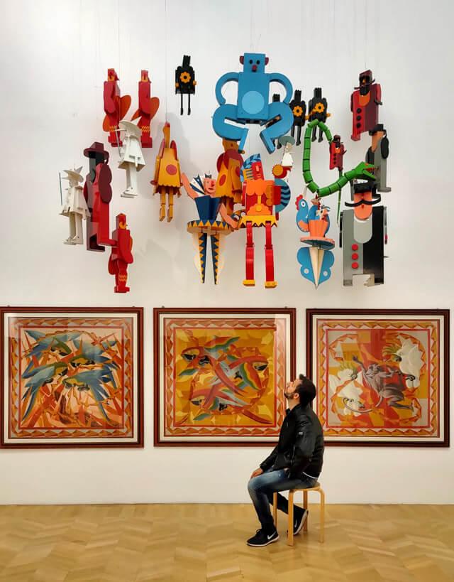 La Casa d'arte futurista Depero è da vedere a Rovereto