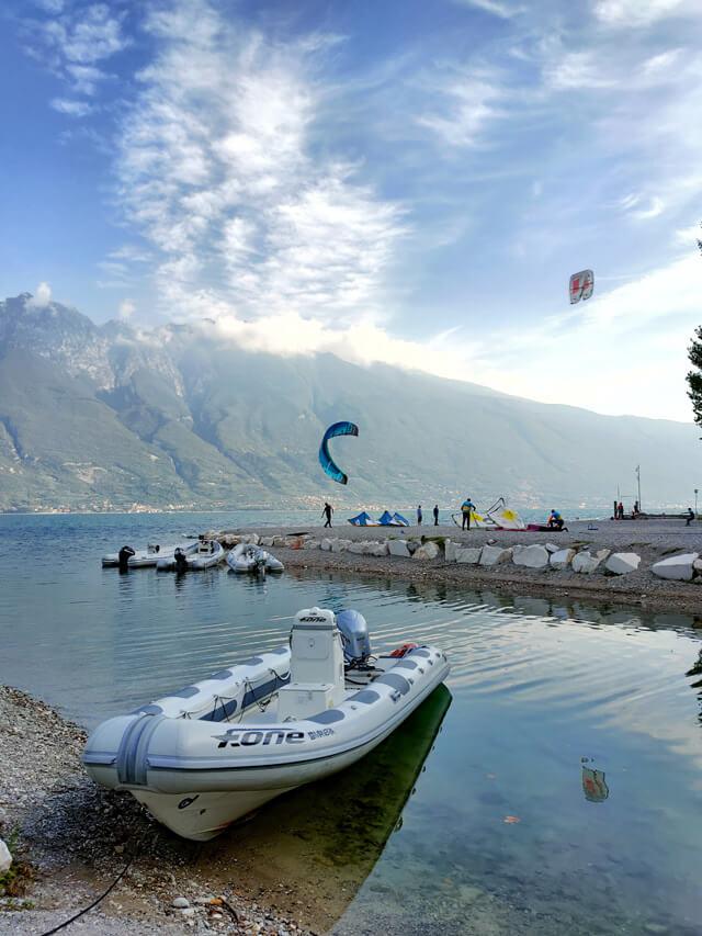 Campione del Garda è perfetto per fare sport sul Lago di Garda