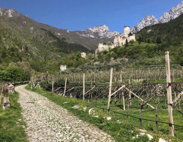 Il Castello di Avio in Trentino è uno dei più belli d'Italia