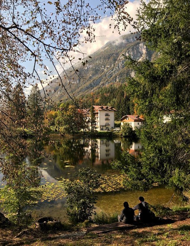 Il Lago di Cei è una meraviglia del Trentino!
