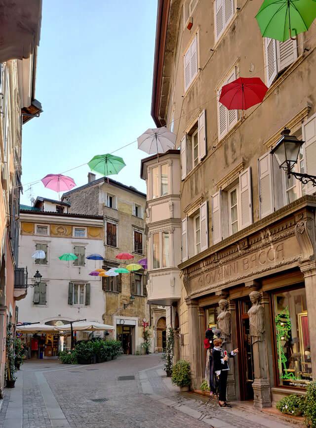 Rovereto è da visitare in Trentino: ha uno stupendo centro storico