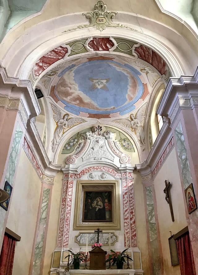 La chiesa della Madonna della Salute di Sompriezzo è splendida