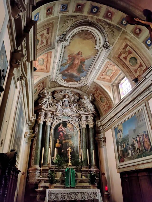 La chiesa di San Lorenzo a Voltino è da vedere a Tremosine sul Garda