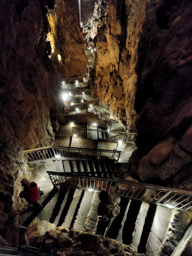 La Grotta Gigante è da vedere nei dintorni di Trieste