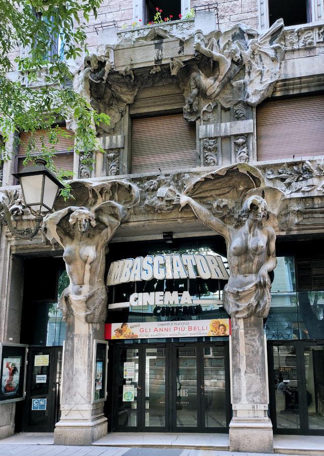 Trieste è piena di stile liberty: lo dimostra Palazzo Vivanti-Giberti