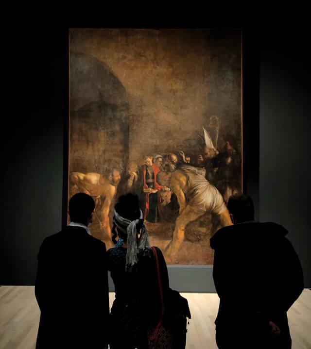 Srake ha collaborato a promuovere la mostra Caravaggio il contemporeaneo al Mart di Rovereto