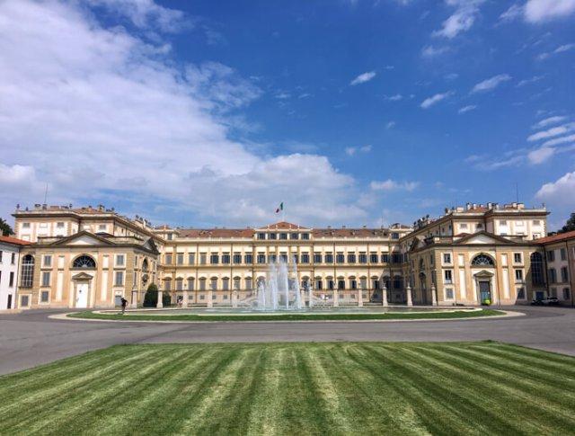 La Villa Reale di Monza è una delle foto da fare in Lombardia