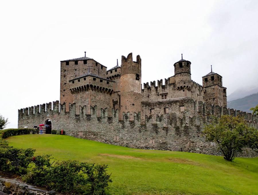 Tour castelli Valle d'Aosta