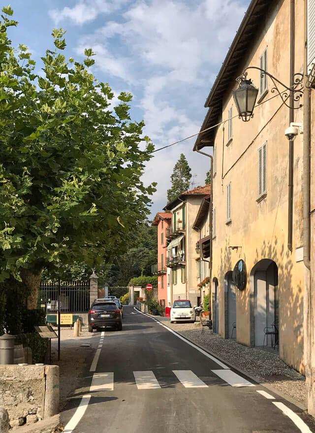 Loppia è la frazione di Bellagio che si trova appena sotto Villa Melzi