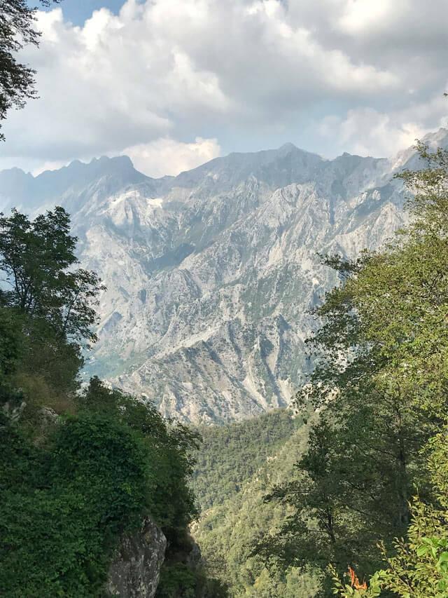 L'Orto Botanico delle Alpi Apuane è perfetto per fare stare nella natura