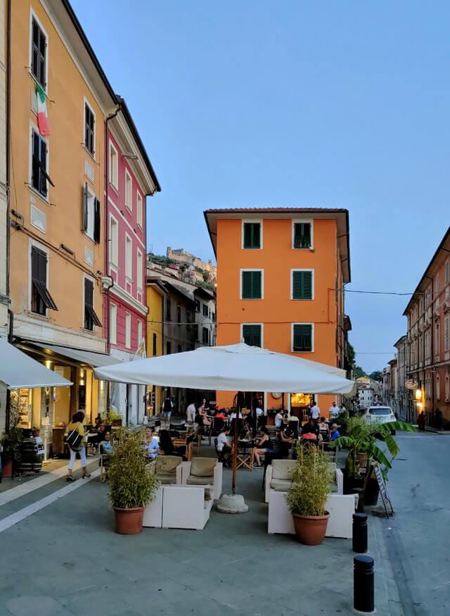 Piazza Mercurio è una bellissima piazza di Massa in Toscana