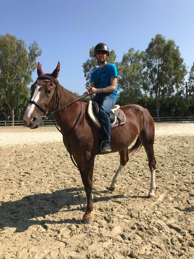 L'Associazione Terre di Luni ad Ameglia (SP) fa corsi di equitazione