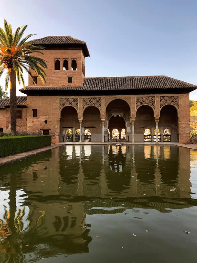 Il Partal è una delle cose da vedere nell'Alhambra di Granada