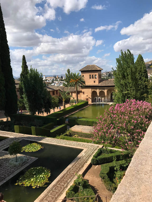 Il Partal è da fotografare nell'Alhambra di Granada