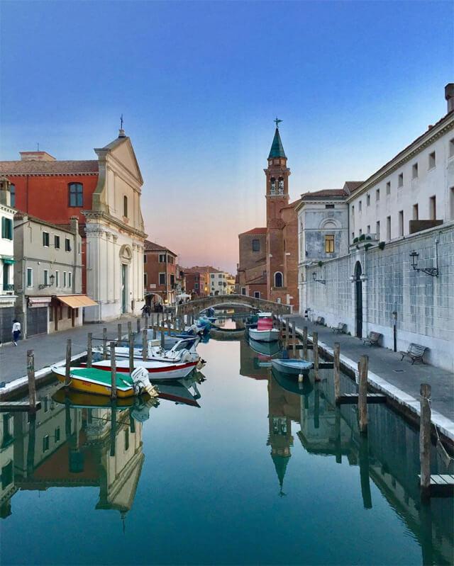 Chioggia è uno dei posti più belli del Veneto