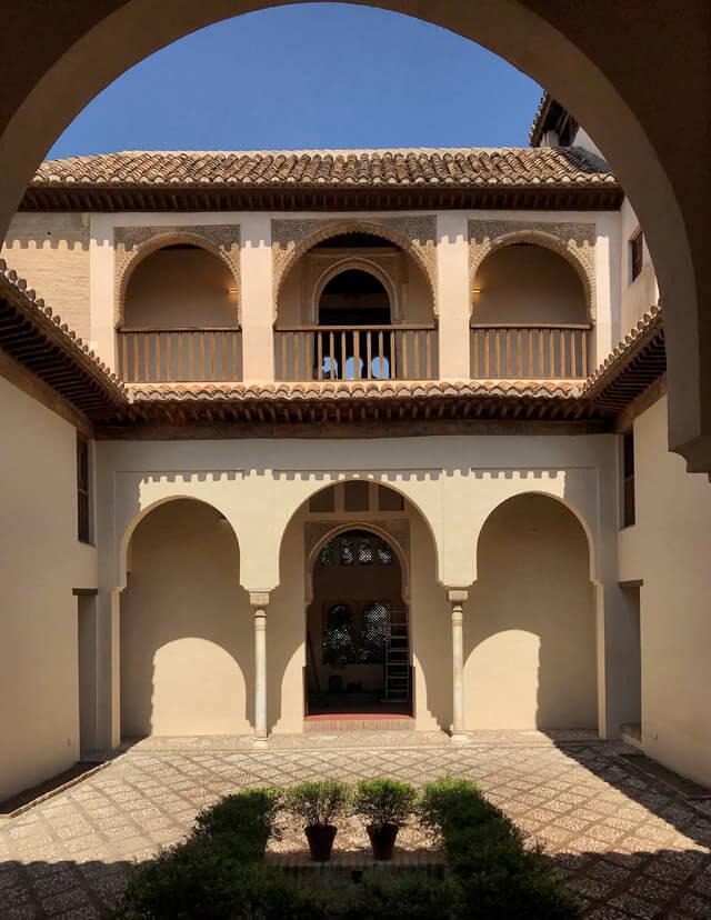 Il Palazzo di Dar al-Horra è da vedere a Granada