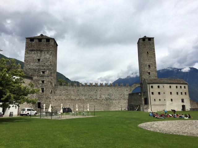 Il Castelgrande è un posto da vedere a Bellinzona in Ticino