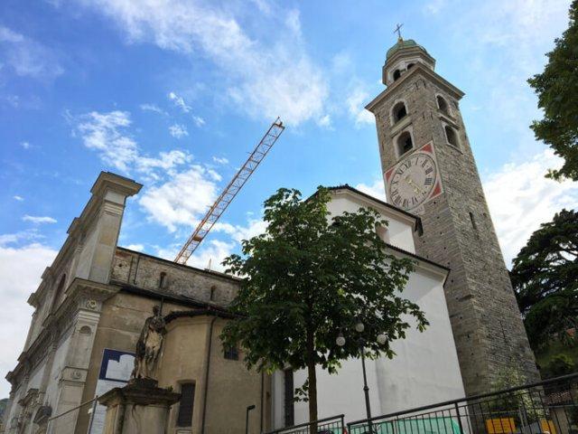 La Cattedrale di San Lorenzo è da visitare a Lugano